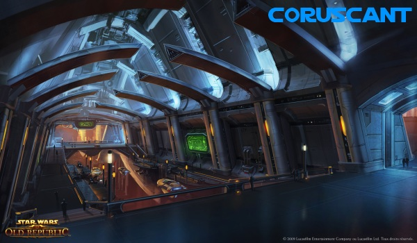 Coruscant swtor Star Wars: The Old Republic   Les Datacrons