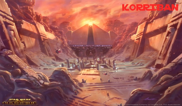 Korriban swtor Star Wars: The Old Republic   Les Datacrons
