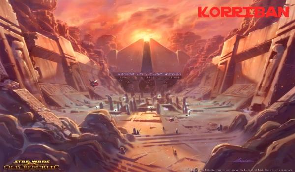 Korriban swtor Star Wars: The Old Republic   Les Datacrons