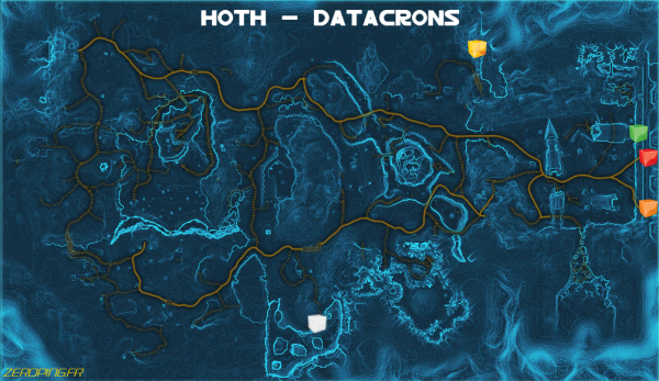 hoth map Star Wars: The Old Republic   Les Datacrons