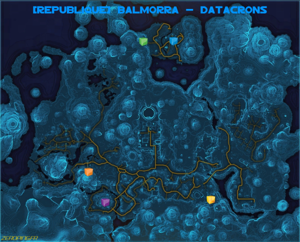 rep balmorra map Star Wars: The Old Republic   Les Datacrons
