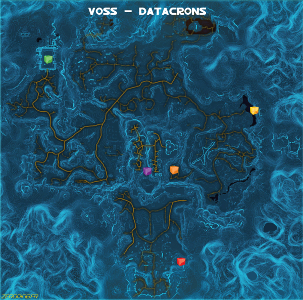 voss map Star Wars: The Old Republic   Les Datacrons