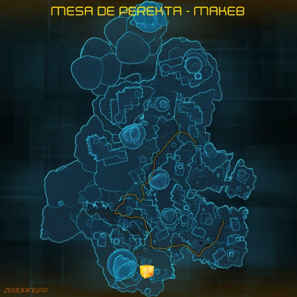 Perekta Mesa datacron Star Wars: The Old Republic   Les Datacrons