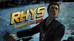 Rhys, aka la tête de con.