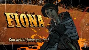 Fiona la deuxième personne jouable dans cet aventure.