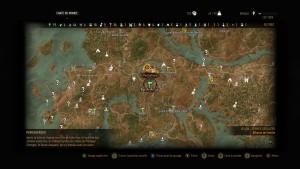 Une petite partie de la carte