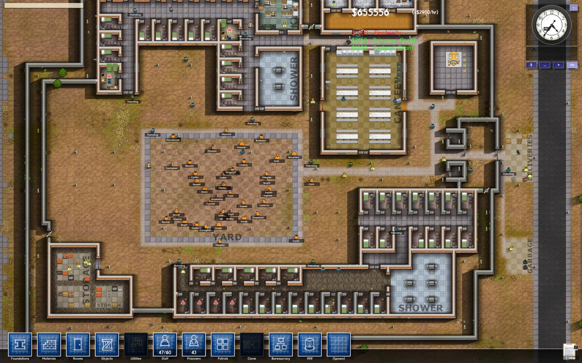 Mini preview gamescom prison architect zeroping for Jail architect