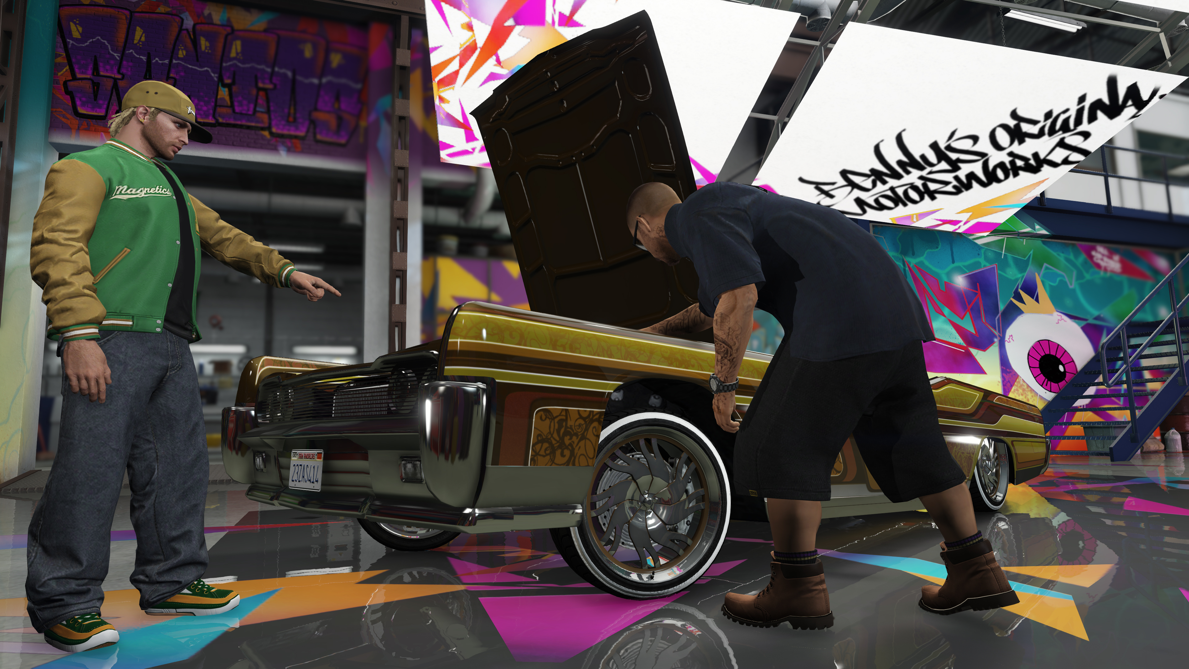 gta online lowriders date de sortie zeroping. Black Bedroom Furniture Sets. Home Design Ideas