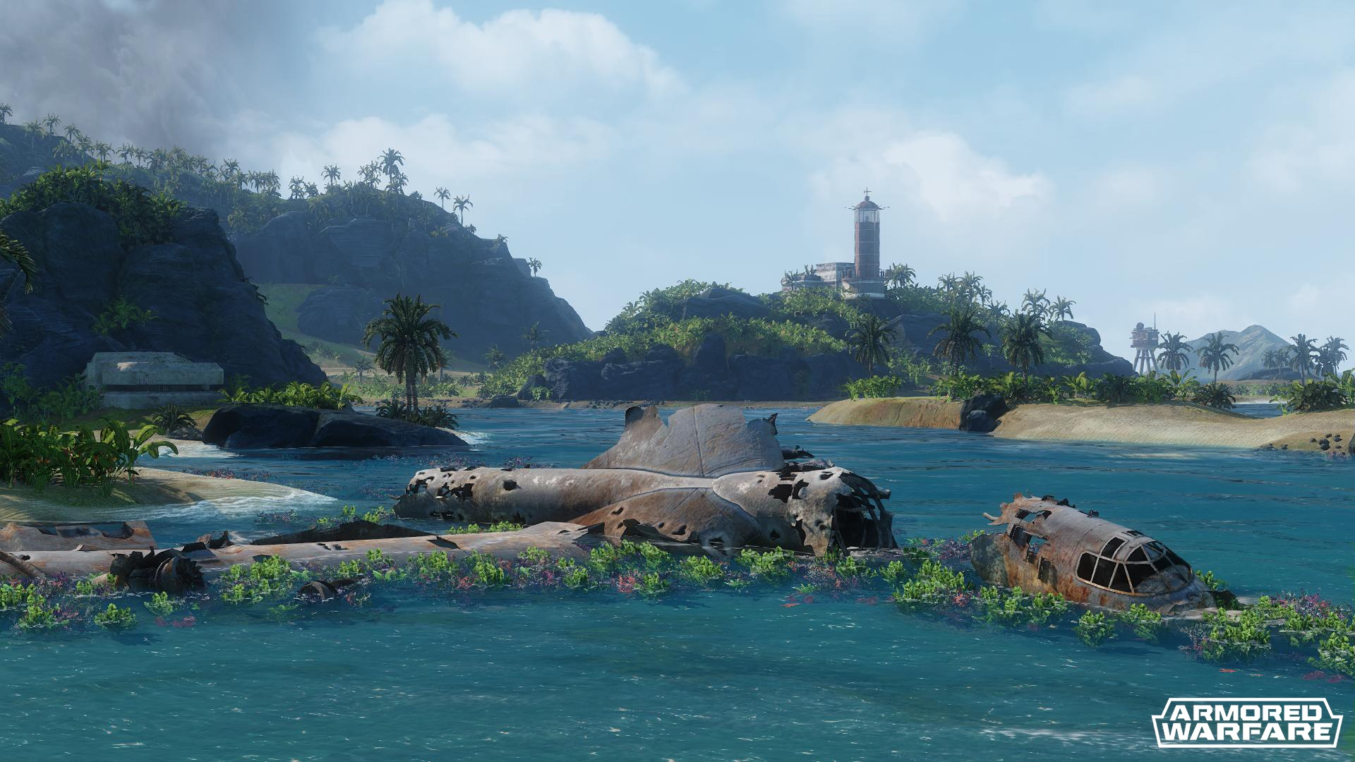 Lost Islands Map V